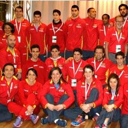 Selección Atletismo Española