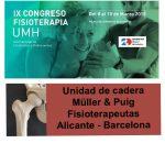 Ponencia en el IX Congreso Internacional de Fisioterapia en la Universidad Miguel Hernández